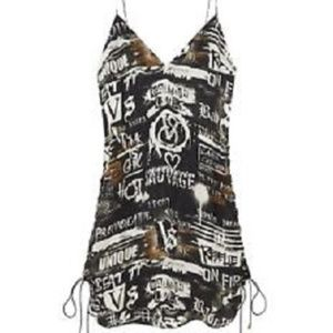 Victoria's Secret Balmain collection slip dress L
